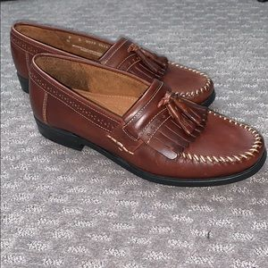 Bass Micheal men's leather loafers
